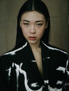 mavis zhang basic models singapore asia female fashion