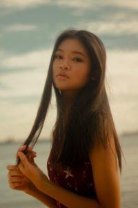 phoebe tan basic models singapore female fashion