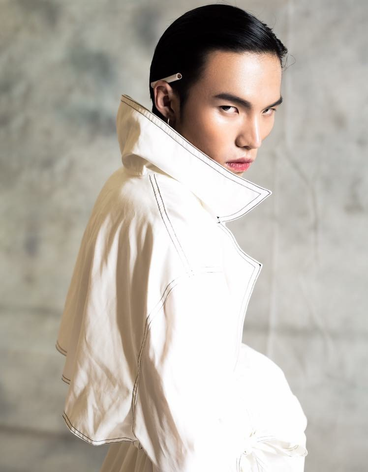 Jesper chai malaysia singapore fashion male model basic