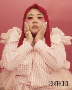 Xixi Lim basic models artistes singapore plus size fashion