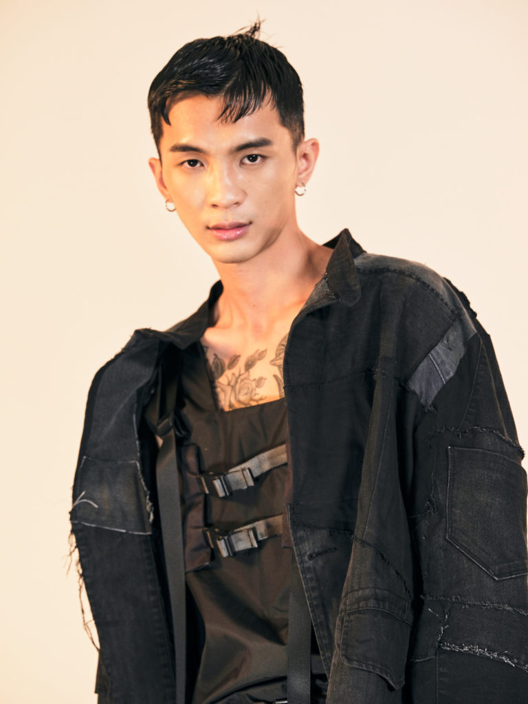 jingyu male model fashion basic models singapore commercial asian